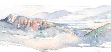 Watercolour view