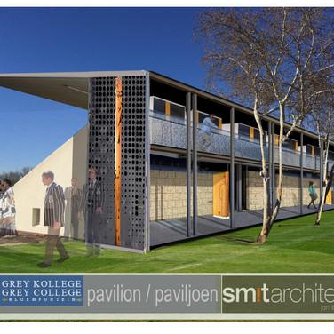 Grey pavilion proposal