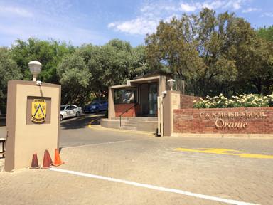 Oranje Meisieskool Main Gate