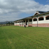 Stables from east