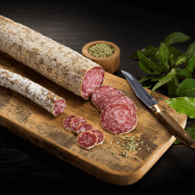 The Wooded Pig Fennel Salami 125g