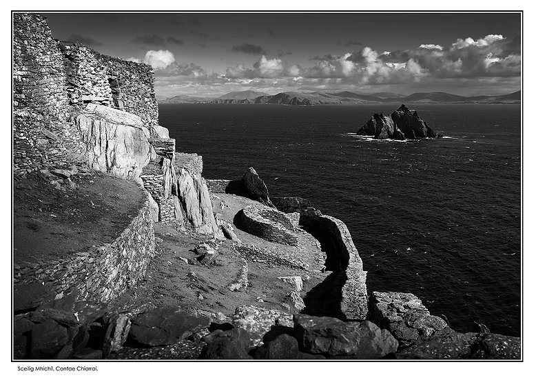 The Skelligs Wall Art Photo Block 154