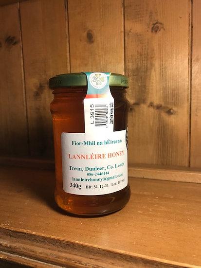Lannléire Irish Honey 340g