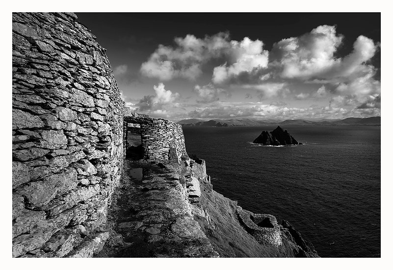 The Skelligs Wall Art Photo Block No.39