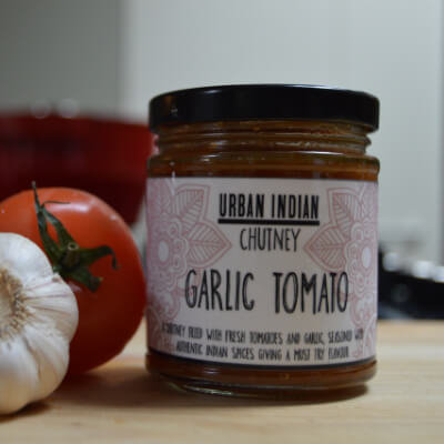Urban Indian Garlic Tomato Chutney