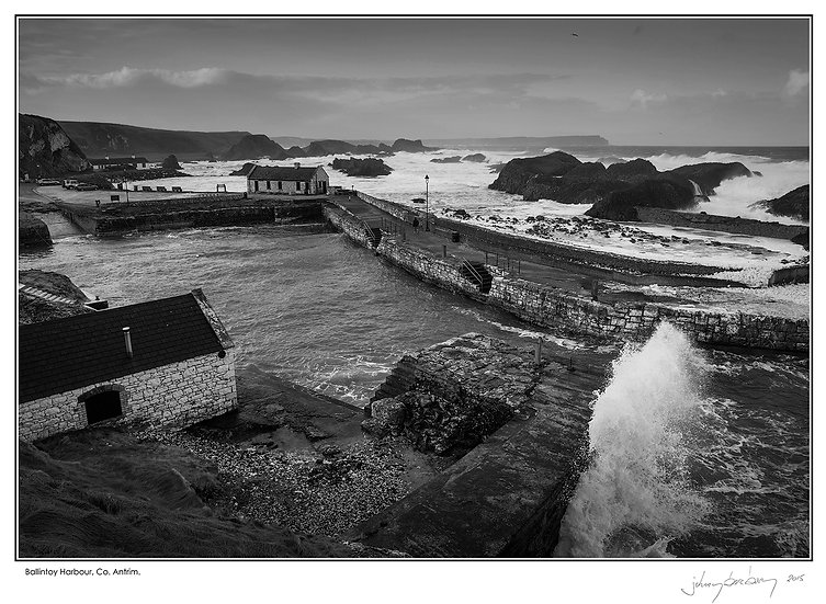 Ballintoy Harbour Wall Art Photo Block No.6