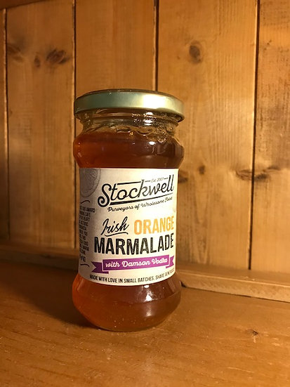 Stockwell's Orange & Damson Vodka Marmalade