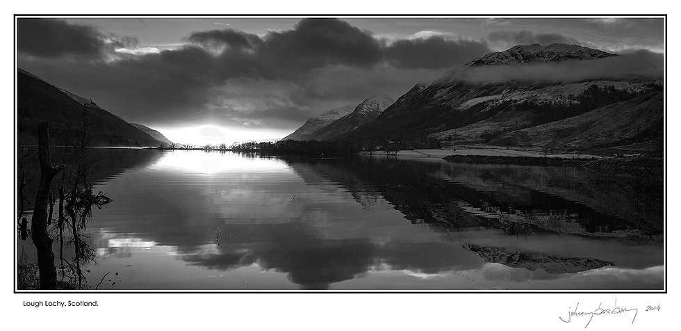 Loch Lochy, Scotland Wall Art Photo Block 06