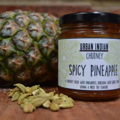 Urban Indian Spicy Pineapple Chutney