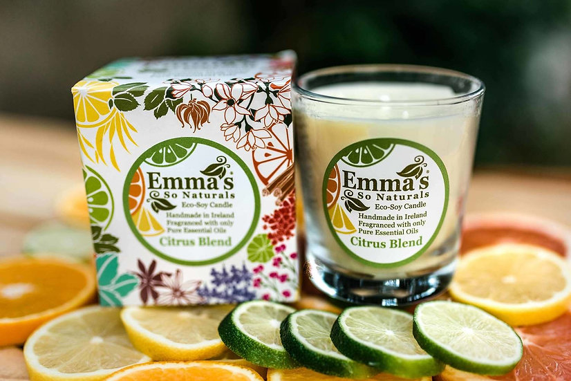 Emma's So Natural Soy Candles - Citrus Blend