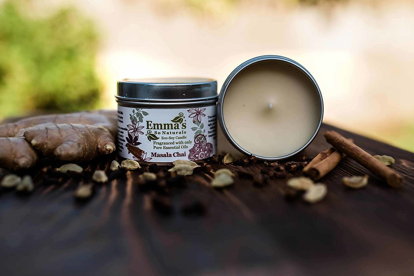 Emma's So Natural Candle - Masala Chai