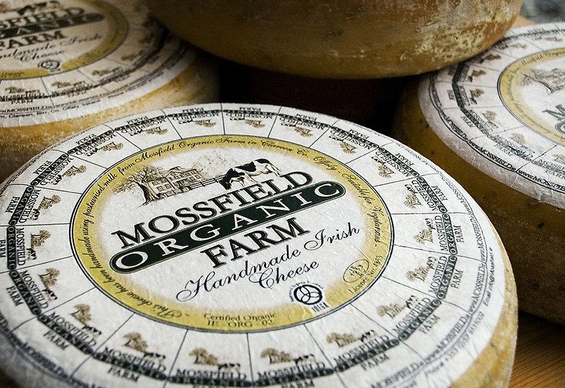 Mossfield Organic Cumin Seed Cheese Wedge