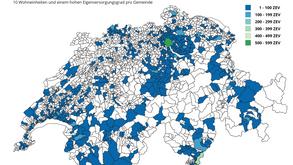 ZEV-Potenzial in 583 Gemeinden