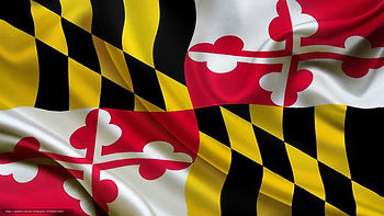 Maryland Flag on FCJC MD