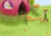 Anda Ansheen, Ansheen, illustator, ilustrator, illustrations, childrens book, picture book, illustrations for children, Copilul Verde, Yummy Stories