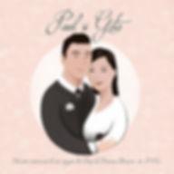 Anda Ansheen, Ansheen, illustator, ilustrator, illustrations, childrens book, picture book, illustrations for children, wedding card, personalized wedding card, art wedding invitation