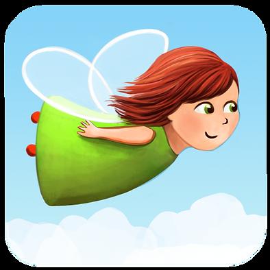 Anda Ansheen, Ansheen, illustator, ilustrator, illustrations, childrens book, picture book, illustrations for children, little faiy app, fairy game,