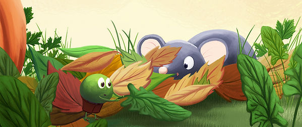 Anda Ansheen, Ansheen, illustator, ilustrator, illustrations, childrens book, picture book, illustrations for children, Copilul Verde, Yummy Stories