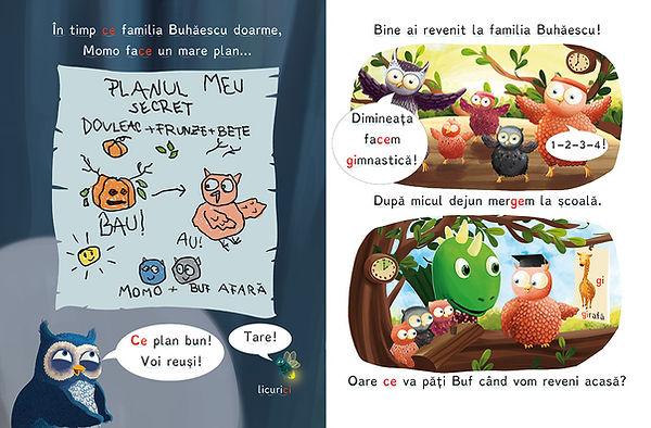 Familia Buhaecu, Anda Ansheen, illustrator, ilustrator, picture book