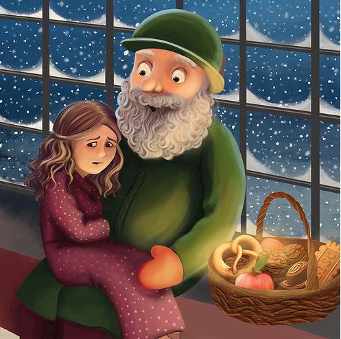 Anda Ansheen, Ansheen, illustator, ilustrator, illustrations, childrens book, picture book, illustrations fo children, te red booties