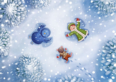 Anda Ansheen, Ansheen, illustator, ilustrator, illustrations, childrens book, picture book, illustrations for children,