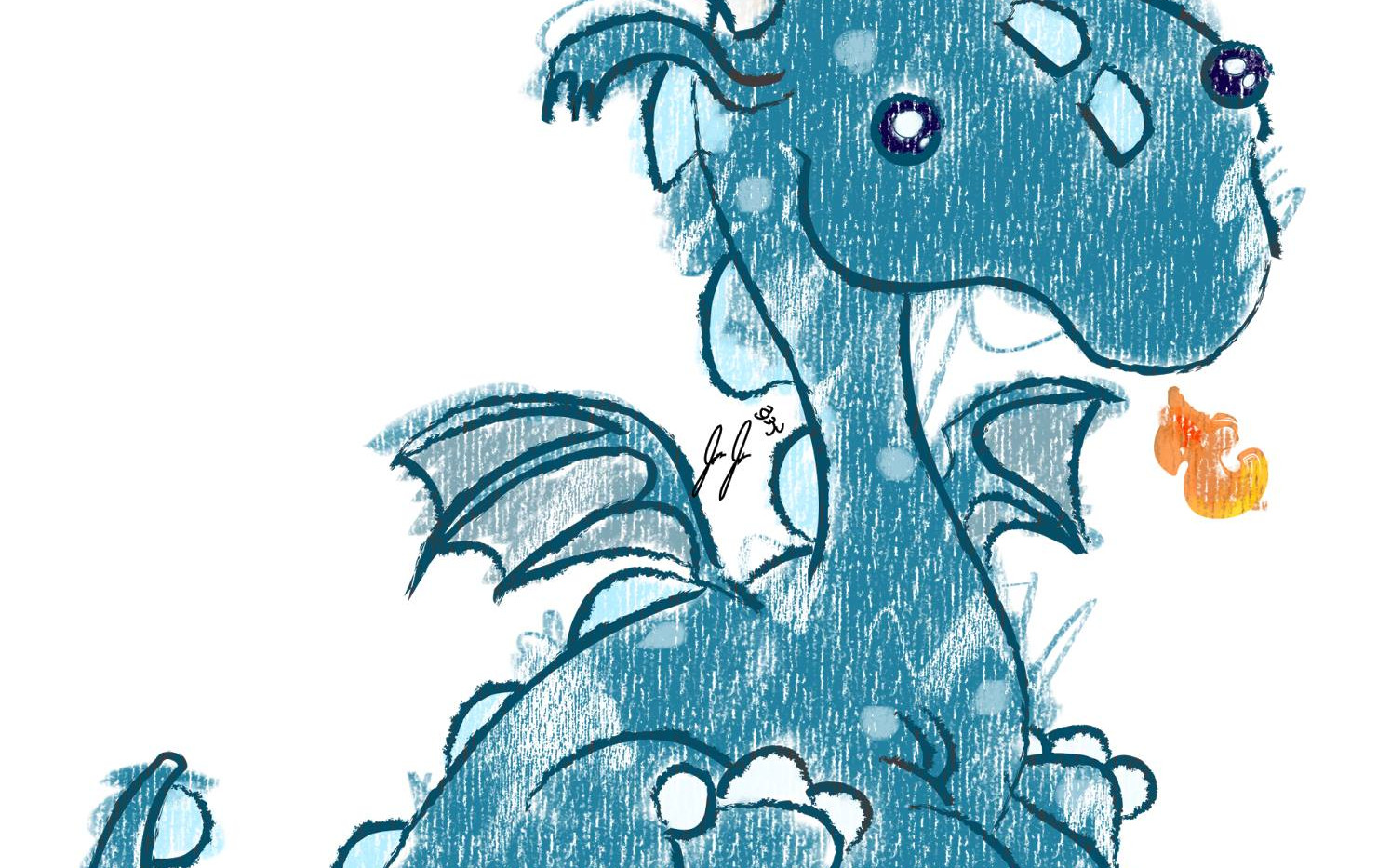 Crayon Dragon