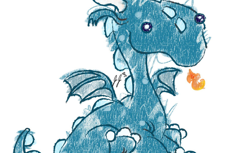 Crayon Dragon