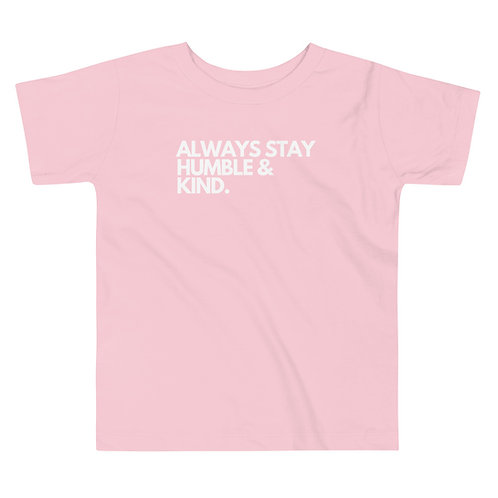Humble and Kind Toddler Soft Short Sleeve Tee