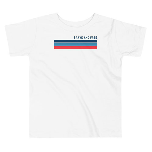 Brave and Free Toddler Short Sleeve Tee
