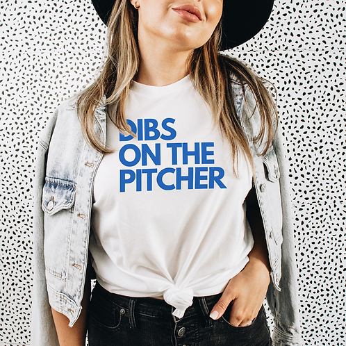 DIBS On The Pitcher Soft Short-Sleeve Unisex T-Shirt