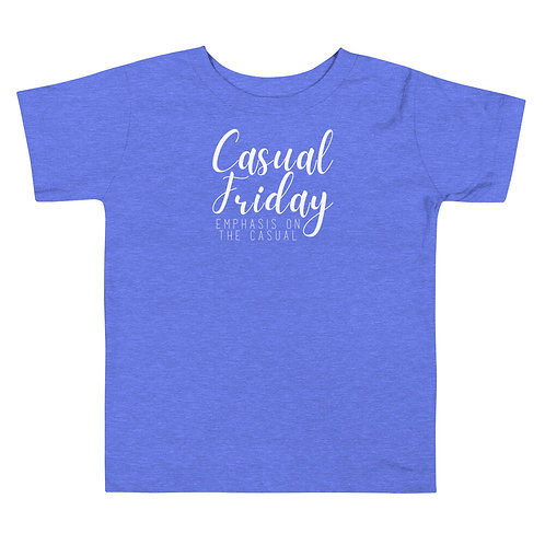 Casual Friday Soft Toddler Short Sleeve Tee