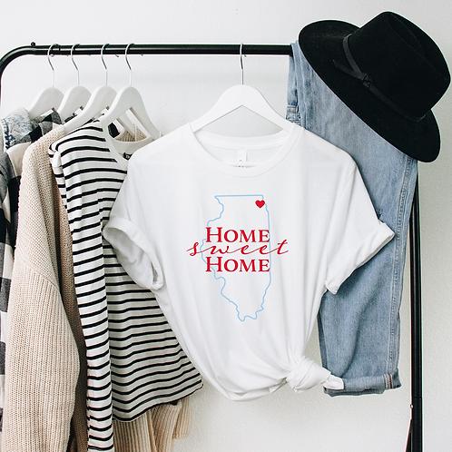 Home Sweet Home Soft Short-Sleeve Unisex T-Shirt