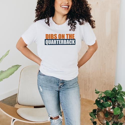 Dibs On The QB Soft Short-Sleeve Unisex T-Shirt