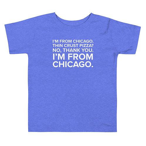 Julius Pepperwood Chicago Toddler Soft Short Sleeve Tee