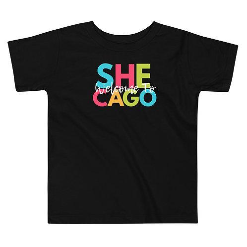 She-cago Toddler Soft Short Sleeve Tee