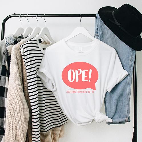 OPE! Midwestern Soft Short-Sleeve Unisex T-Shirt