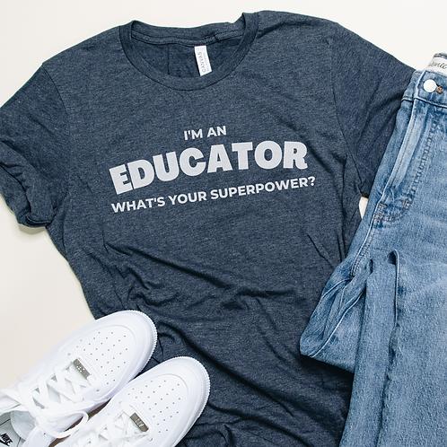 I'm an Educator Soft Short-Sleeve Unisex T-Shirt