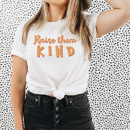 Raise Them Kind Soft Short-Sleeve Unisex T-Shirt