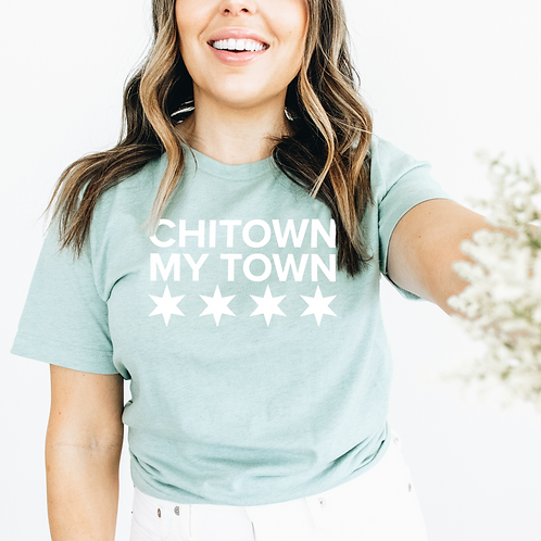 Chi-Town My Town Short-Sleeve Unisex T-Shirt