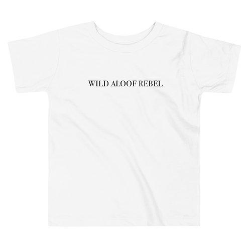 Wild Aloof Toddler Soft Short Sleeve Tee