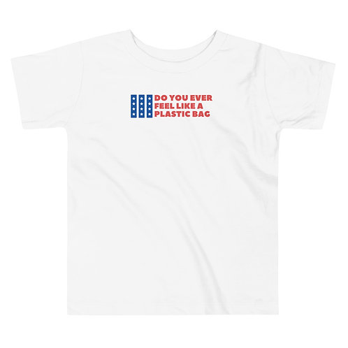 Plastic Bag 4th of July Toddler Short Sleeve Tee