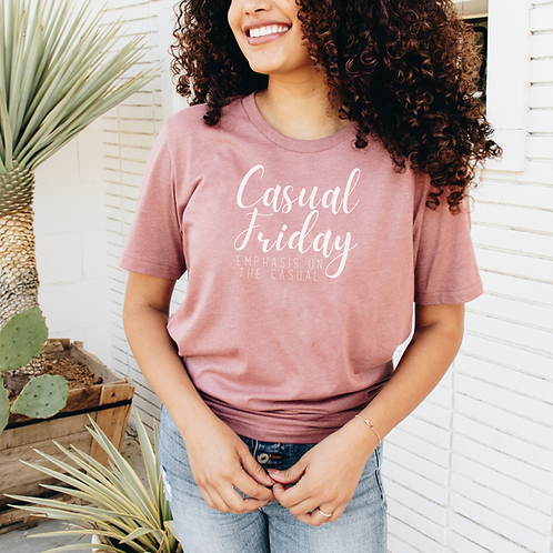 Casual Friday Soft Short-Sleeve Unisex T-Shirt
