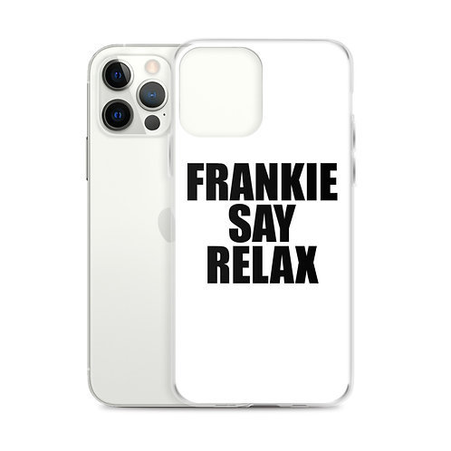 Frankie Say Relax iPhone Case