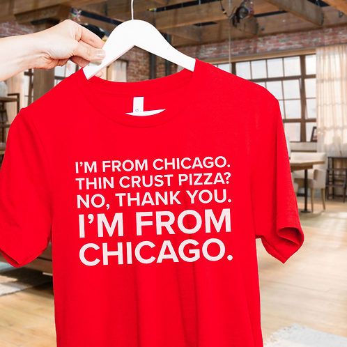 Julius Pepperwood Chicago Soft Short-Sleeve Unisex T-Shirt