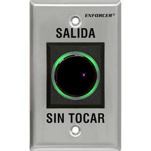 BOTON PULSADOR DE SALIDA DE EMERGENCIA CON SENSOR
