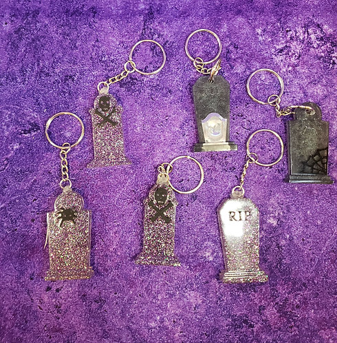 Tombstone Key chains