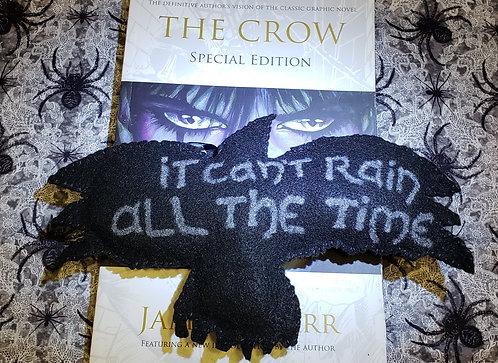 The Crow - Felt Art