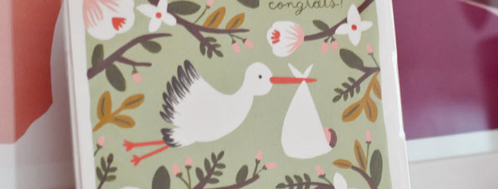 "Carte postale - ""Congrats"""