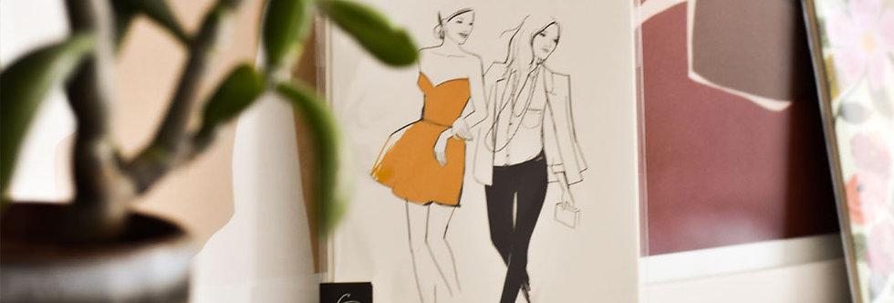 "Carte postale Garance Doré - ""Girls"""