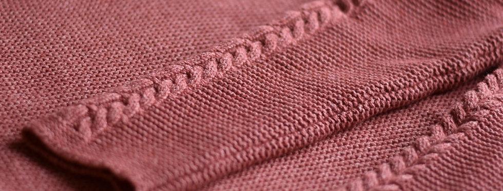 Le pull Isa - Framboise écrasée - Laine et coton